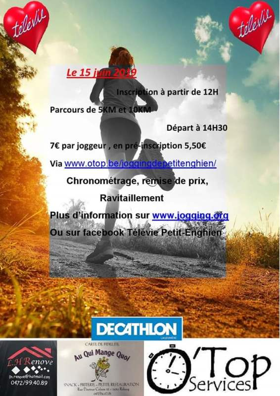 Flyer de la course - recto
